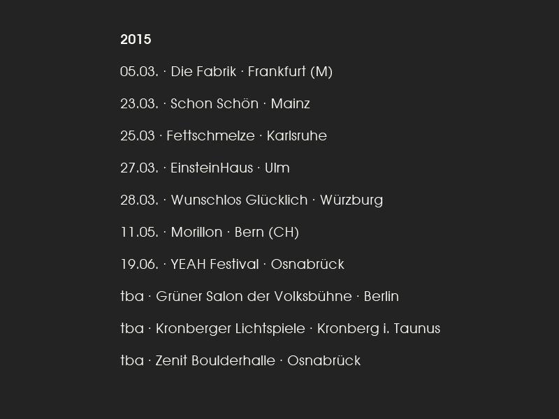 Tourdaten2015